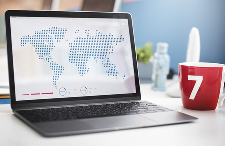 cartography: World Global Business Cartography Communication Concept