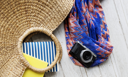 days gone by: Summer Vacation Holiday Nature Concept Stock Photo