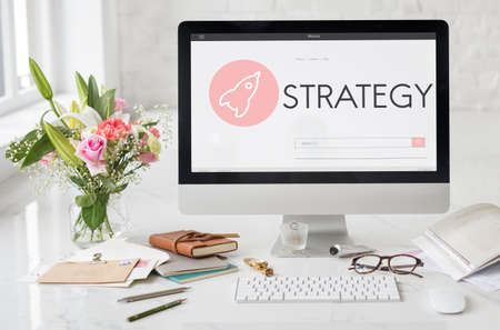 feminine: Strategy New Business Launch Plan Concept