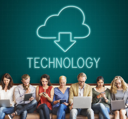advanced computing: Cloud Computing Technology Networking Download Concept