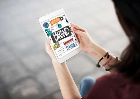 trademark: Brand Creative Advertising Trademark Concept