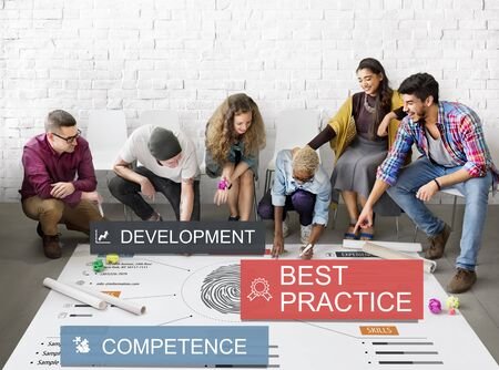Development Practice Competence Skilled Talent Concept Stock Photo