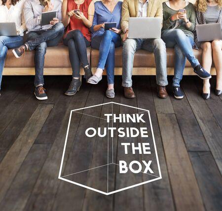 thinking out of the box: Thinking Out Of The Box Concept