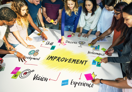 Improvement Potential Excellence Diagram Graphic Concept Stock Photo - 62478454