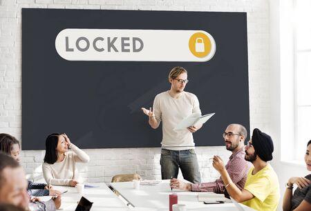 verification: Locked Accessible Permission Verification Security Concept