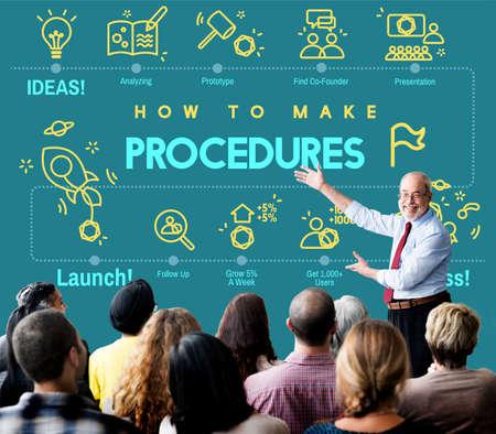 an approach: Procedures Action Approach Process Technique Concept