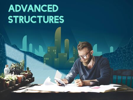 advanced: Advanced Structure Urban Modern Building Concept