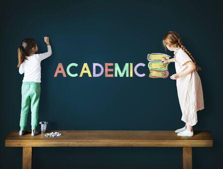 Wisdom Education School Time Academic Concept Stock Photo