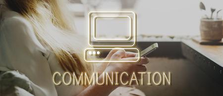 Phone Architect Blog Chatting Concept