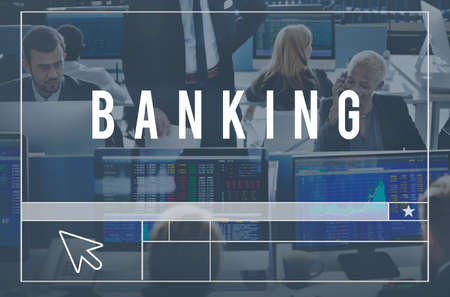 account executive: Banking Finance Economy Currency Fund Money Concept Stock Photo