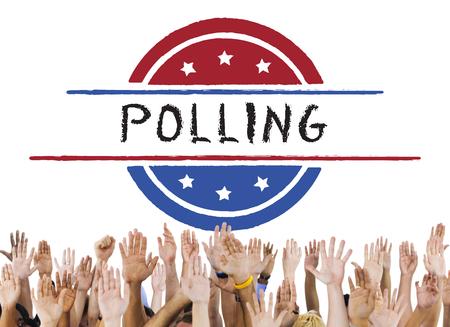 balloting: Politics Government Referendum Democracy Vote Concept Stock Photo