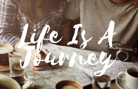 exploration: Journey Travel Trek Trip Explore Exploration Concept