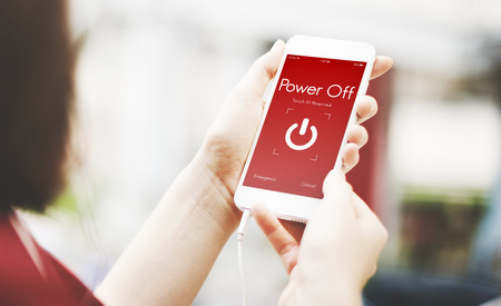 power off: Power Off Touchscreen Display Concept