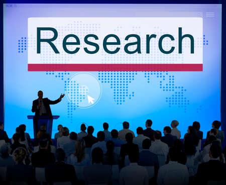 exploration: Research Education Exploration Information Concept