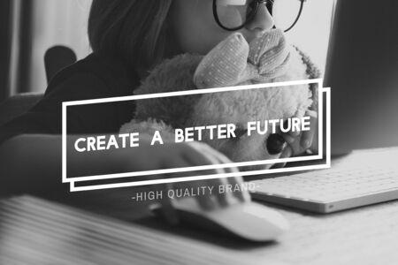better: Creat Better Future Development Strategy Time Concept