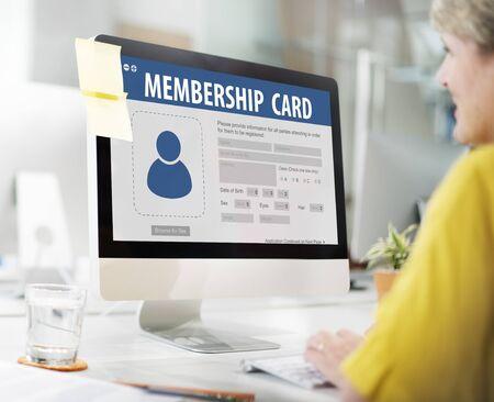 authorization: Authorization Membership Card Identification Data Information License Concept
