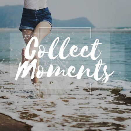 recoger: Momentos recogen goce Explora Concepto estilo de vida