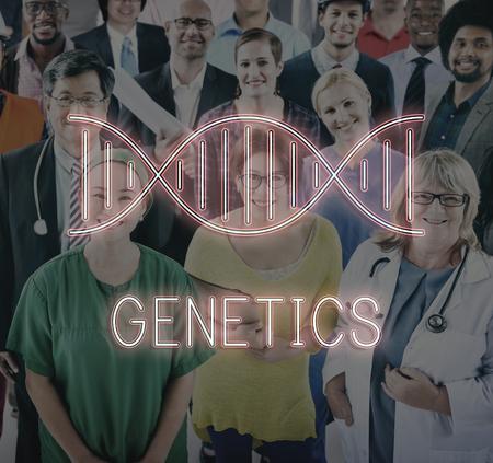 chromosome: DNA Chromosome Genetics Concept