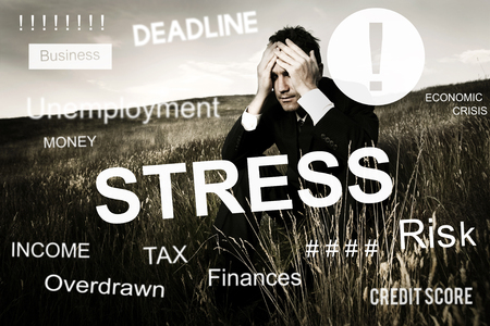 worthless: Business Problem Concern Worried Graphic Concept
