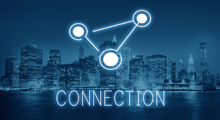 Global Communications Connection Globalization Technology Concept Stock Photo