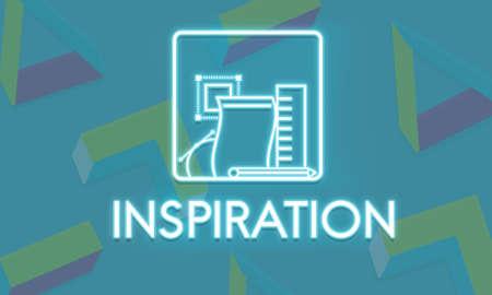 aspirational: Inspiration Imagination Aspiration Motivate Concept Stock Photo