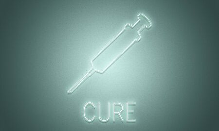 cure: Cure Health Hospital Injection Medicine Concept