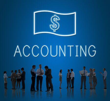 cash flow: Saving Cash Flow Accounting Money Icon Concept
