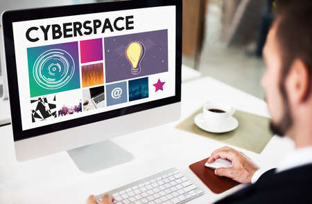 cyberspace: Cyberspace Technology Network Concept