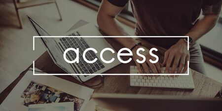 availability: Access Availability Possible Unlock Usable Free Concept