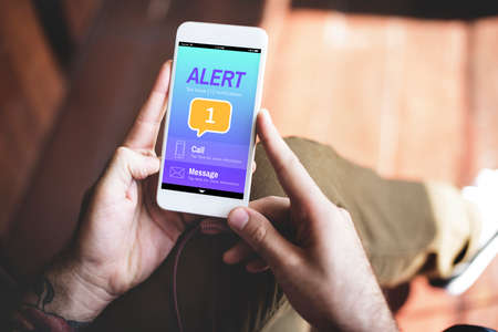 notification: Messaging Communication Notification Alert Reminder Concept