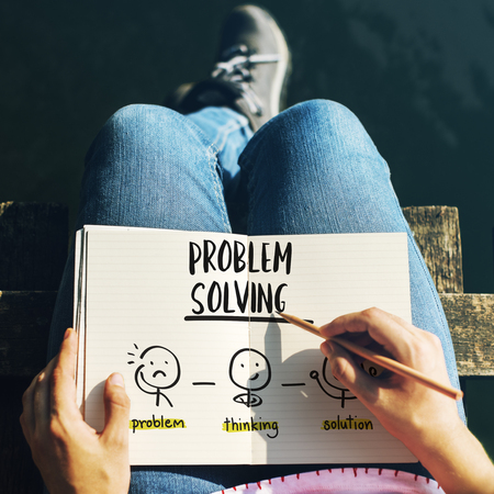 Problem Solving Creative Thinking Brainstorm People Concept Stock Photo