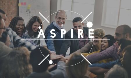 Aspire Aspiration Aim Goal Idea Concept