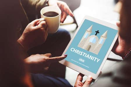 cristianismo: Christianity Holy Jesus Religion Spirituality Wisdom Concept Foto de archivo