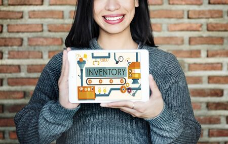 inventory: Inventory Stock Manufacturing Assets Goods Concept