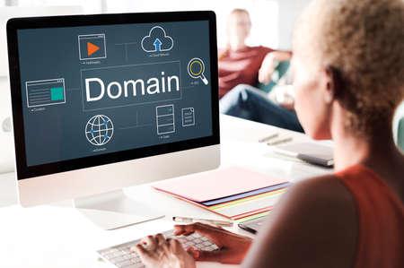 optimisation: Web Page Webinar HTML Browser Concept