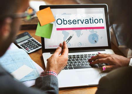 observation: Observation Development Surveillance Vision Concept Stock Photo