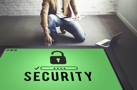 confidentiality: Security Privacy Protection Safety Confidentiality Concept Stock Photo