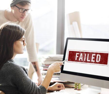 banned: Banned Denied Declined Negative Stamp Concept