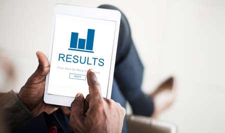 summary: Results Summary Progress Chart Concept