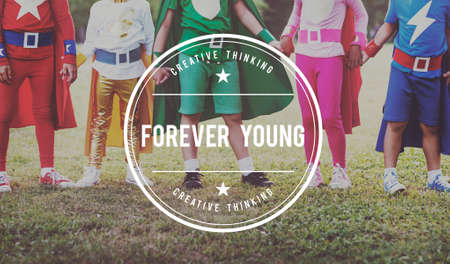 adolescence: Forever Young Lifestyle Youth Adolescence Teens Concept