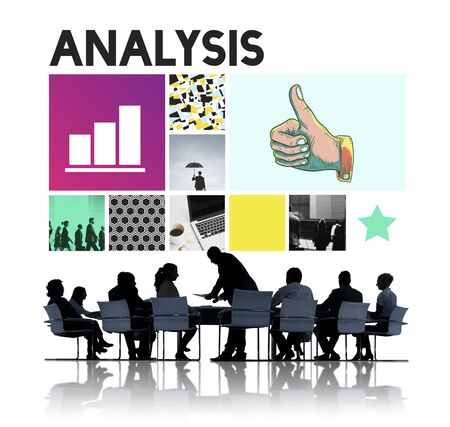Analysis Analyze Data Information Insight Report Concept Stock Photo