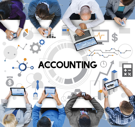 auditing: Accounting Auditing Bookkeeping Balance Finance Concept