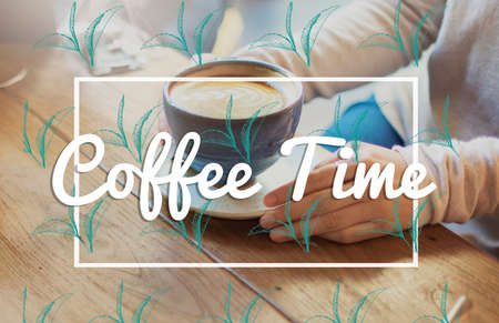 coffe break: Break Tea Coffee Time Relax Concept