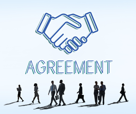 Partnership Agreement Cooperation Collaboartion Concept
