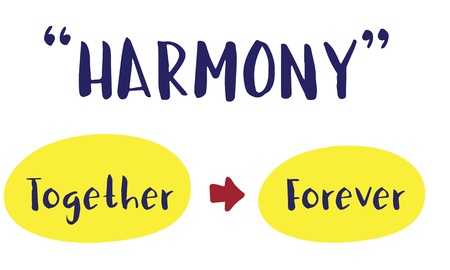 positivity: Positivity Vibes Togetherness Harmony Concept