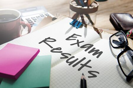 Exam Results Schoold Examination Review Assessment Concept