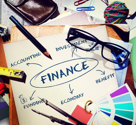 commerce: Finance Funding Commerce Business Concept