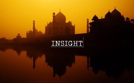 creer: Insight Atención Percepción Ver para Creer Concept Foto de archivo