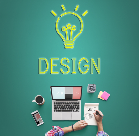 be: Be Creative New Imagination Innovation Graphic Concept Stock Photo
