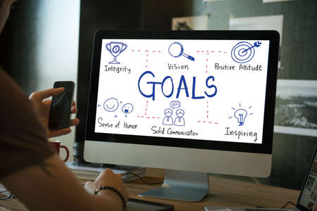 expectations: Goals Expectations Dreams Aspiration Concept Stock Photo